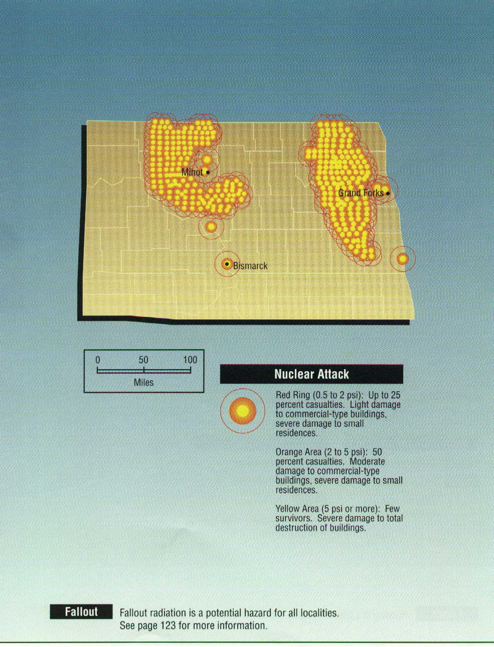 San Francisco Map Fallout 2%0A        x       US nuke fallout Nuclear Weapon Target Map for Nort jpg